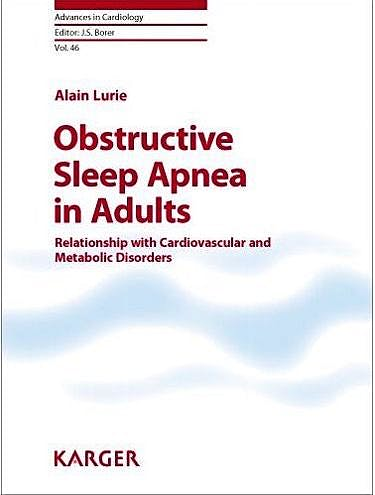 Portada del libro 9783805596459 Obstructive Sleep Apnea in Adults. Relationship with Cardiovascular and Metabolic Disorders