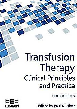 Portada del libro 9783805596961 Transfusion Therapy. Clinical Principles and Practice