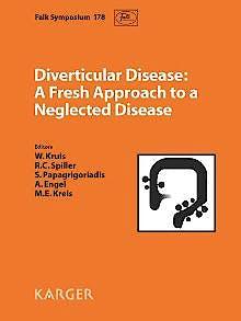 Portada del libro 9783805599566 Diverticular Disease: A Fresh Approach to a Neglected Disease