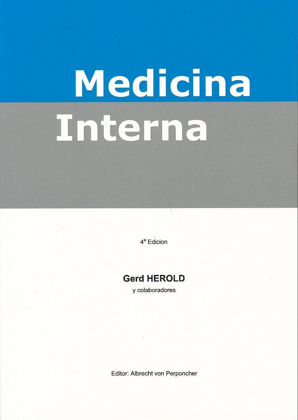 Portada del libro 9783813505276 Medicina Interna