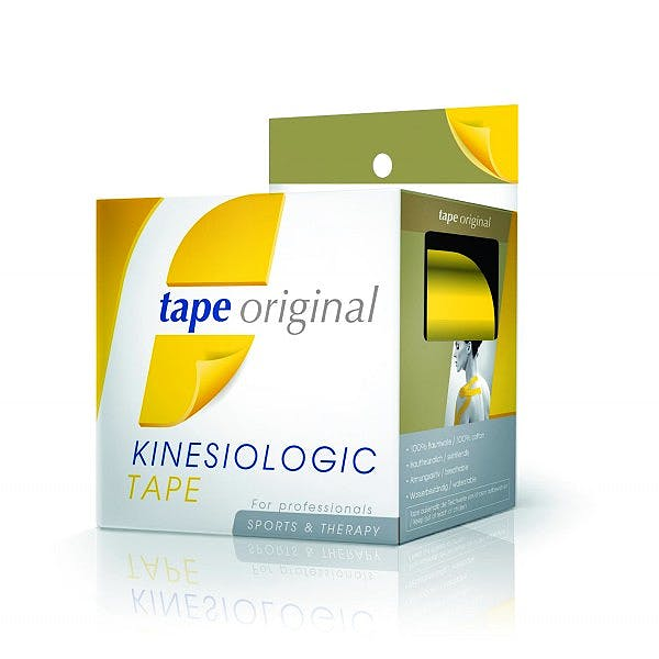 Tape Original Kinesiologic Tape Amarillo (5cm X 5m)