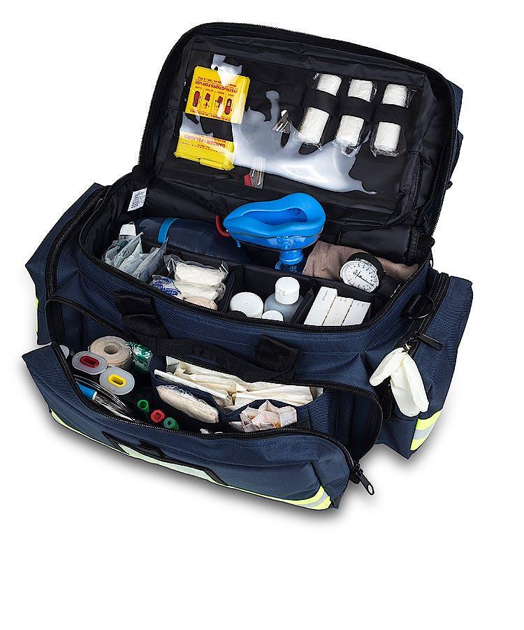 Bolsa Emergencias Gran Capacidad de Loneta Azul Modelo EM13.012