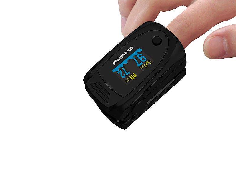 Pulsioxímetro de Dedo Choicemmed MD300C63 Oxywatch (Adulto y Niños)