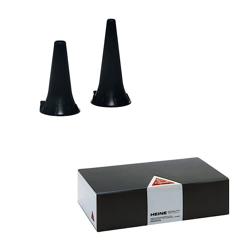 Espéculo Auricular Desechable 4 mm. para Otoscopio Heine Beta, Mini o K-180 (Caja 1000 Unidades)