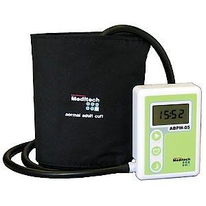 Holter de Presión no Invasiva Oscilométrico Modelo Bluebp-05 Bluetooth Completo con Accesorios