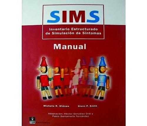 Portada del libro 9783861173199 Kit Corrección SIMS. Inventario Estructurado de Simulación de Síntomas. Incluye Pin + 25 Usos