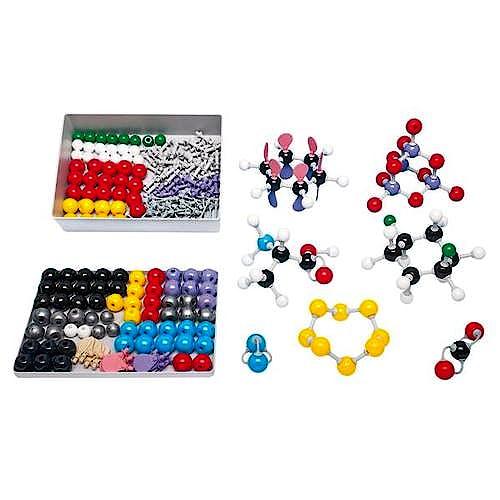 Kit Molecular Química Inorgánica / Orgánica D, Molymod® (Set para Profesores)