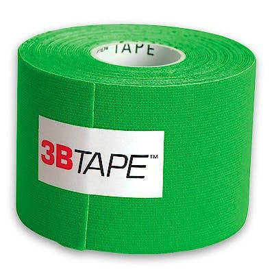 3B Tape Verde Kinesiology Tape, Rollo de 5 cm. x 5 m.