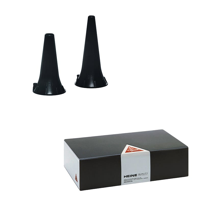 Espéculo Auricular Desechable 2,2 mm. para Otoscopio Heine Beta, Mini o K-180 (Caja 1000 Unidades)