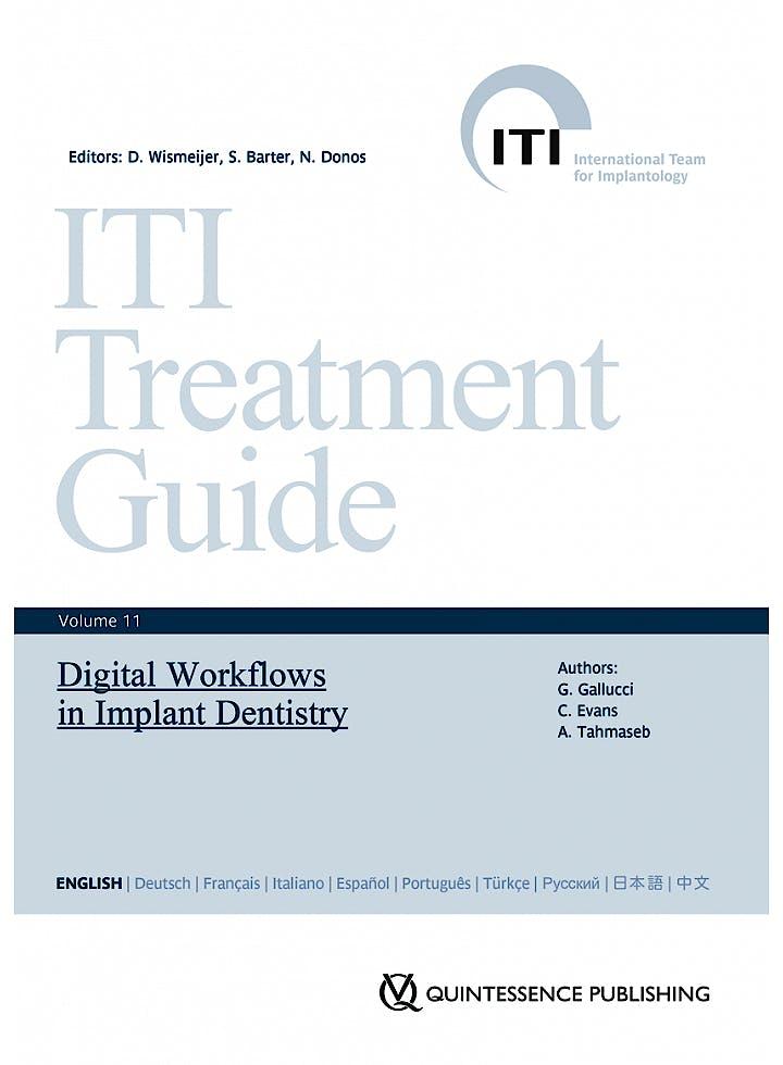 Portada del libro 9783868673852 Digital Workflows in Implant Dentistry (ITI Treatment Guide, Vol. 11)