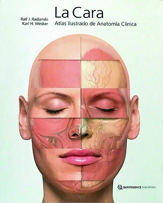 Portada del libro 9783868674057 La Cara. Atlas Ilustrado de Anatomía Clínica