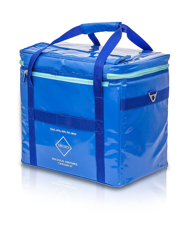 Bolsa Isotérmica Tarpaulin Azul Modelo COOL's EB04.003