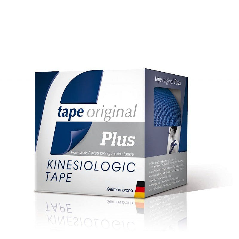 Tape Original Kinesiologic Tape PLUS Azul Marino (5cm X 5m)