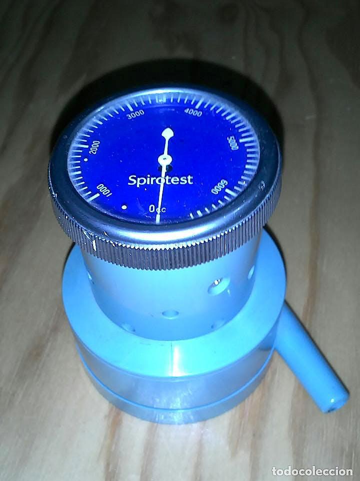 Espirómetro Riester Spirotest o Manómetro de Presión Pulmonar, 1000-7000 cm3, con 50 Boquillas