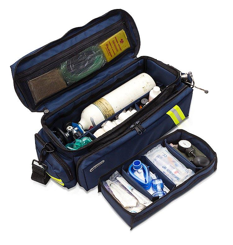 Bolsa Oxigenoterapia de Loneta Azul Oscuro Modelo EM13.004