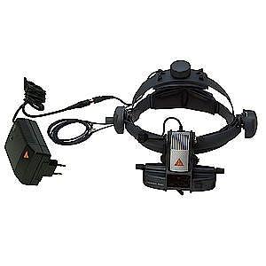 Oftalmoscopio Heine Indirecto Omega500 LED Kit 1 con Control de Luminosidad HC 50 L y Transformador, con Cable de Conexión