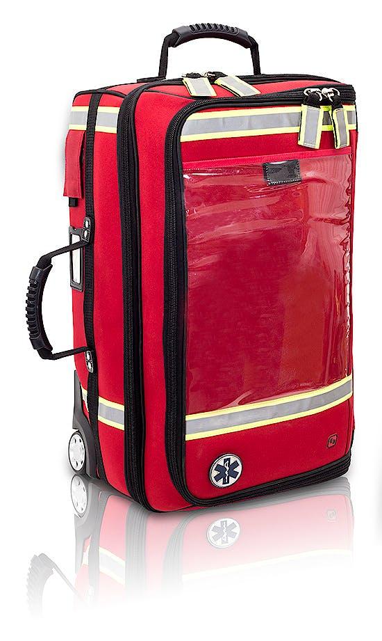 Maletín Trolley Vertical Emergencias Rojo Modelo Emerair's EB02.025