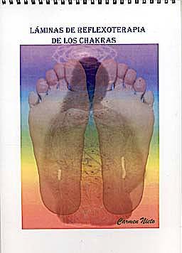 Laminas de Reflexoterapia de los Chakras (9 Laminas)