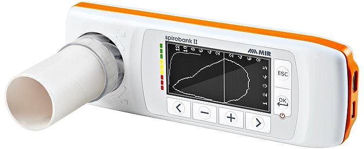Spirobank II Smart - Espirómetro con oxímetro Con turbinas desechables