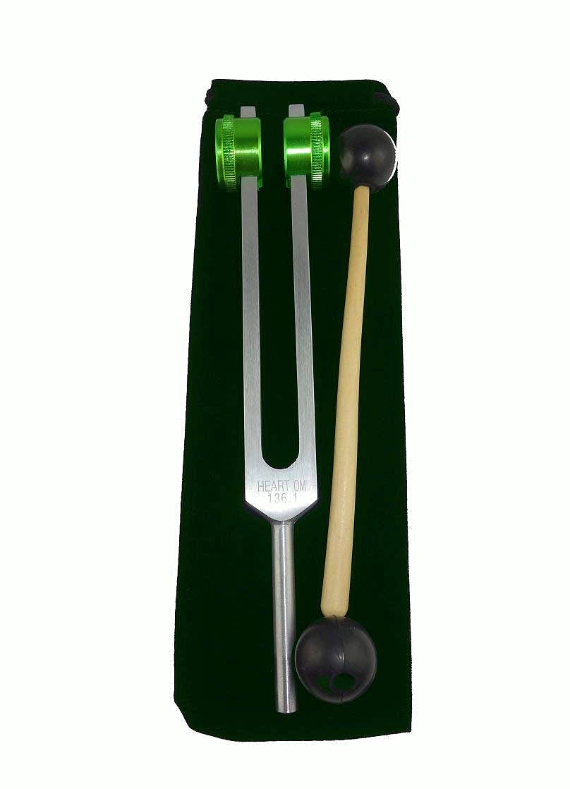 Diapasón Tuning Fork Om Tuner 136.1 Hz con Bola de Masaje y de Color Swingweight