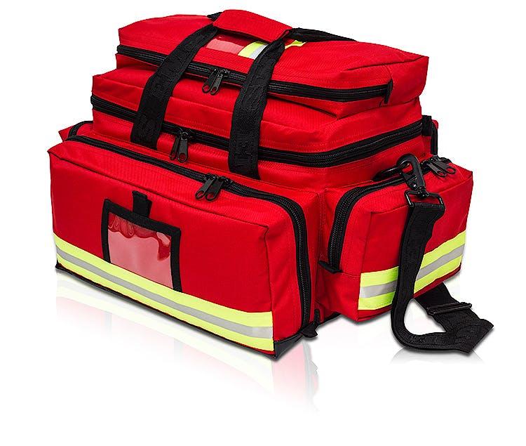 Bolsa Emergencias Gran Capacidad de Loneta Roja Modelo EM13.003