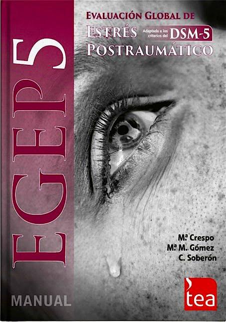 Portada del libro 9783966985130 EGEP-5. Evaluación Global de Estrés Postraumático (Kit Corrección, Incluye: 25 Ejemplares, 25 Hojas de Corrección, Pin 25 Usos)