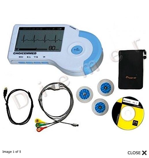 Electrocardiografo Portatil MD100B