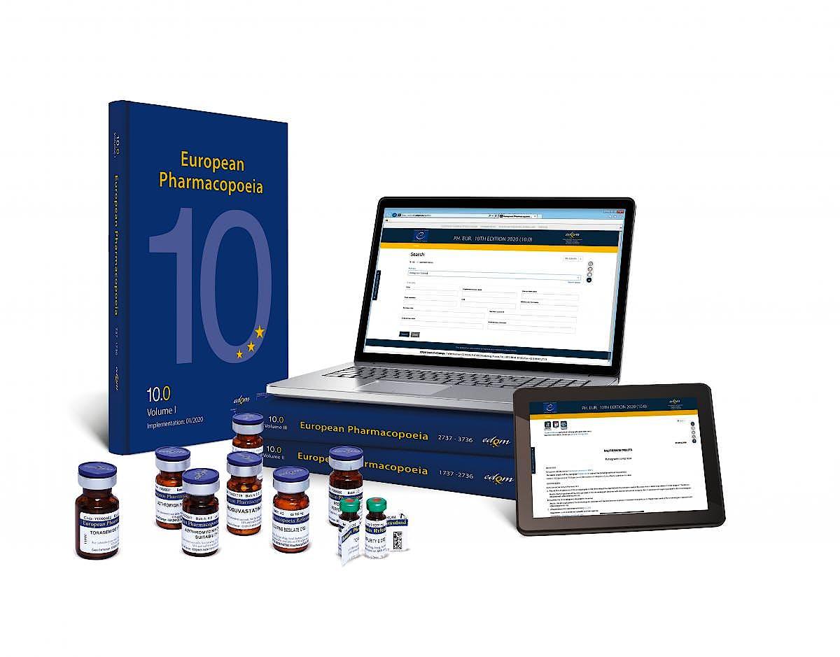 Portada del libro 9784053039132 Farmacopea Europea/European Pharmacopoeia 10.0 **Electronic Version** + Supplements 10.1-10.2 - Bilingual