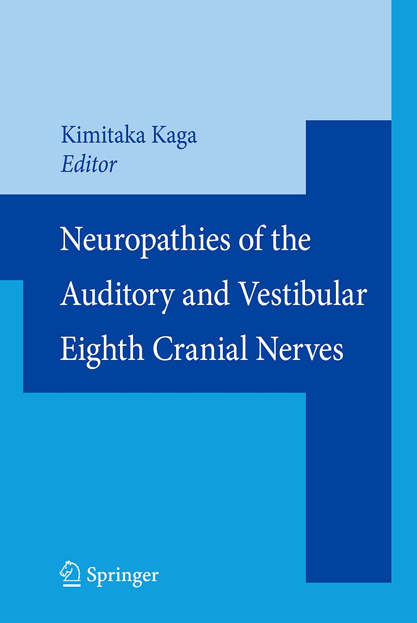 Portada del libro 9784431094326 Neuropathies of the Auditory and Vestibular Eighth Cranial Nerves