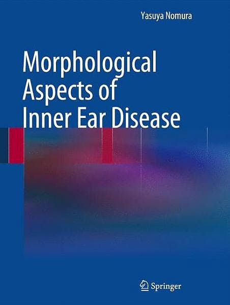 Portada del libro 9784431542032 Morphological Aspects of Inner Ear Disease
