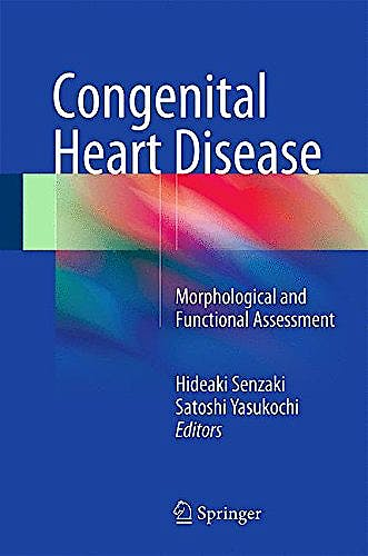 Portada del libro 9784431543541 Congenital Heart Disease. Morphological and Functional Assessment