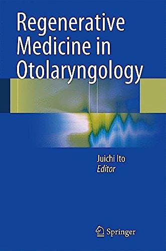 Portada del libro 9784431548553 Regenerative Medicine in Otolaryngology