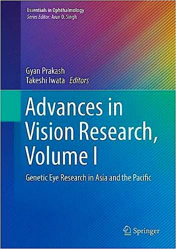 Portada del libro 9784431565093 Advances in Vision Research, Vol. I: Genetic Eye Research in Asia and the Pacific (Essentials in Ophthalmology)