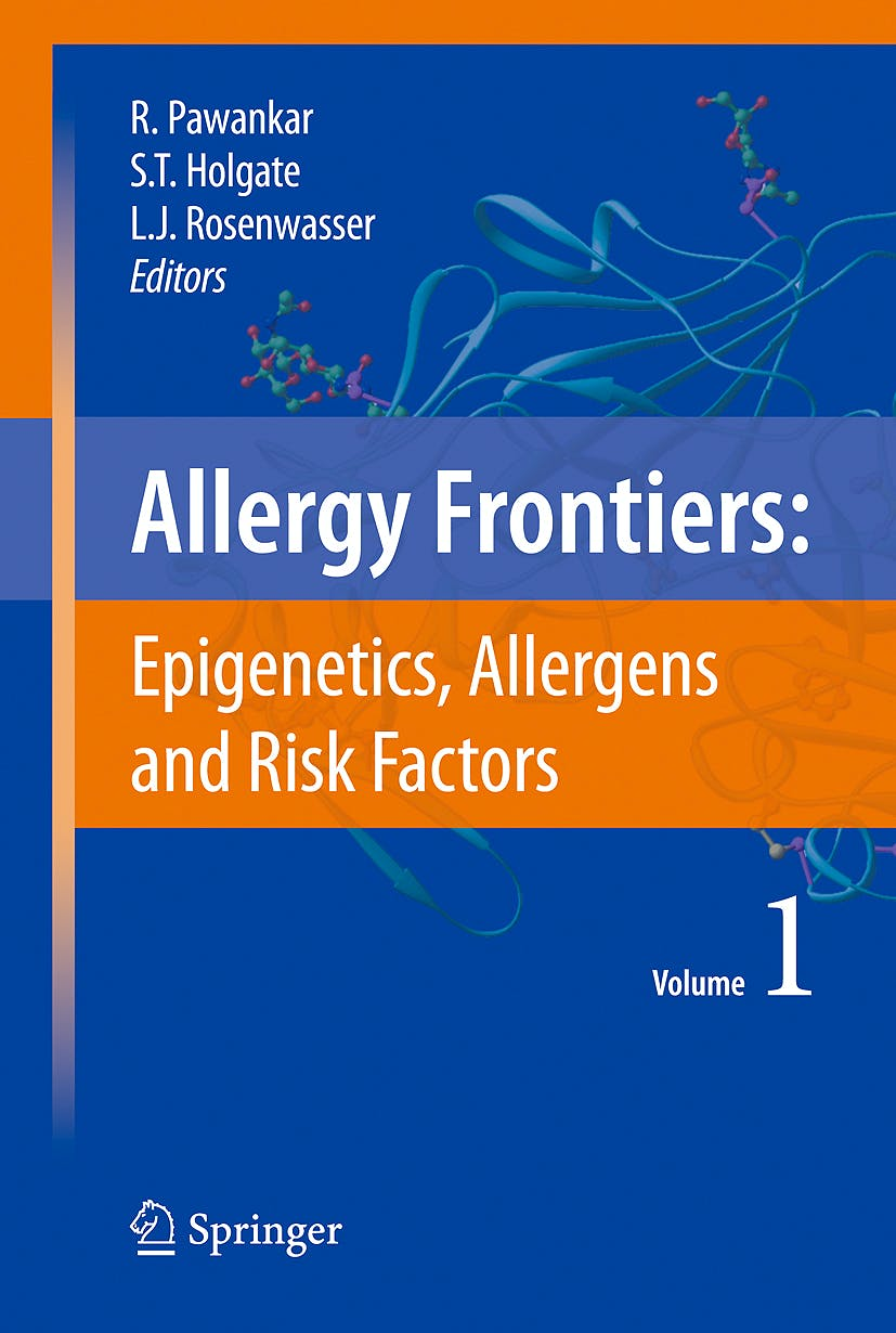 Portada del libro 9784431728016 Allergy Frontiers, Vol. 1: Epigenetics, Allergens and Risk Factors