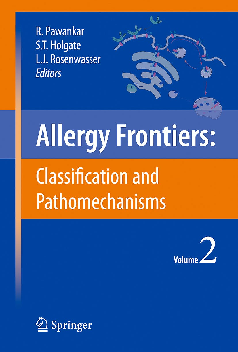 Portada del libro 9784431883142 Allergy Frontiers, Vol. 2: Classification and Pathomechanisms