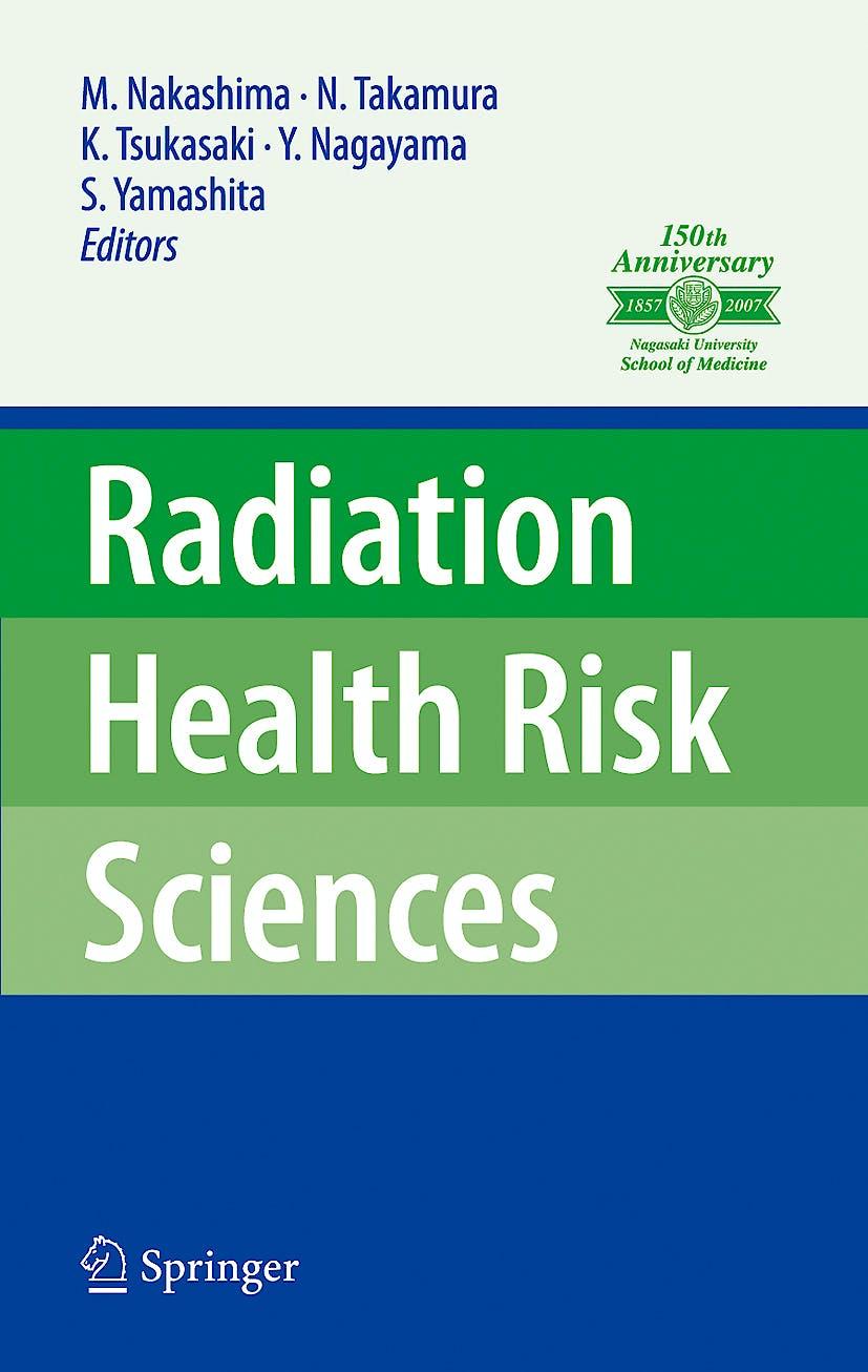 Portada del libro 9784431886587 Radiation Health Risk Sciences