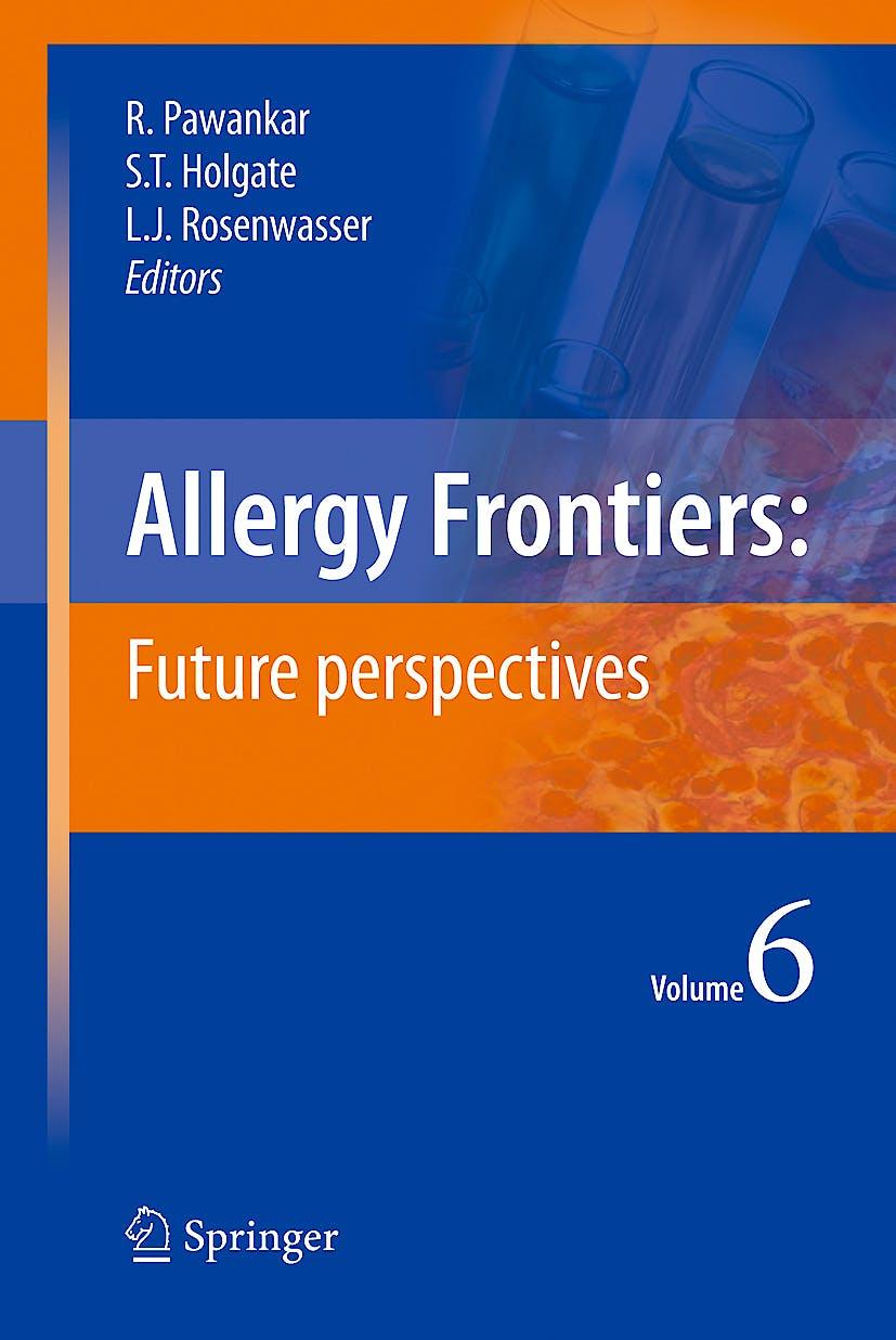 Portada del libro 9784431993643 Allergy Frontiers, Vol. 6: Future Perspectives