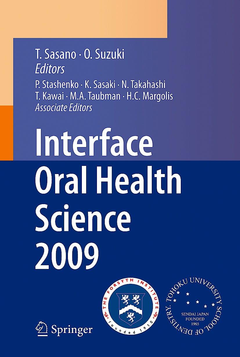 Portada del libro 9784431996439 Interface Oral Health Science 2009