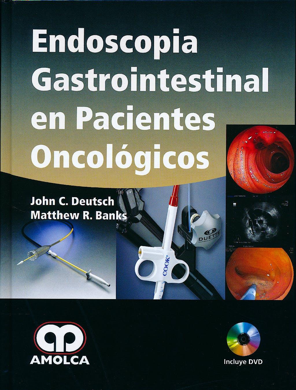 Portada del libro 9784582764611 Endoscopia Gastrointestinal en Pacientes Oncológicos + DVD