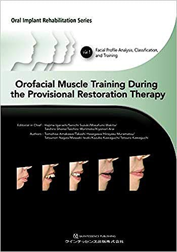 Portada del libro 9784781204901 Orofacial Muscle Training During the Provisional Restoration Therapy