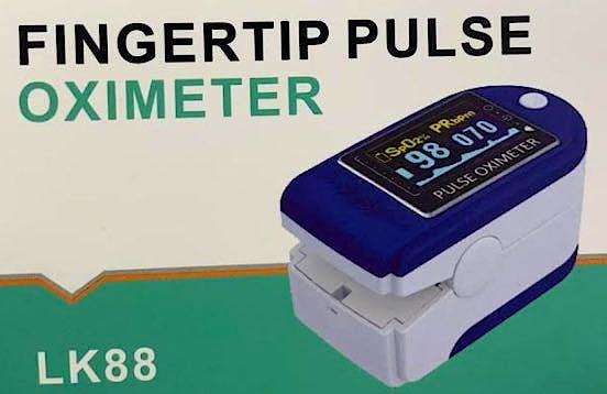 Pulsioxímetro LK88