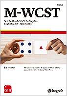 Portada del libro 9784800290632 M-WCST. Test de Clasificación de Tarjetas de Wisconsin - Modificado (Kit Corrección, Incluye: 25 Hojas de anotación, Pin 25 Usos)