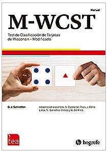 Portada del libro 9784800299024 M-WCST. Test de Clasificación de Tarjetas de Wisconsin Modificado. Juego completo (Manual, Kit Corrección 25 Usos, Tarjetas)