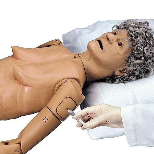 Simulador para Cuidado del Paciente Geriátrico I