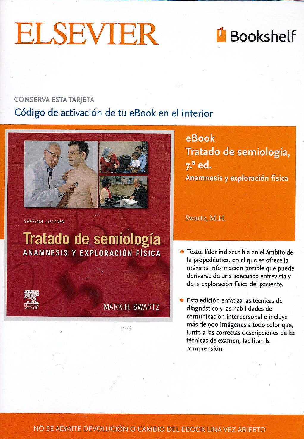 Portada del libro 9785490228165 Tratado de Semiología. Anamnesis y Exploración (E-Book)