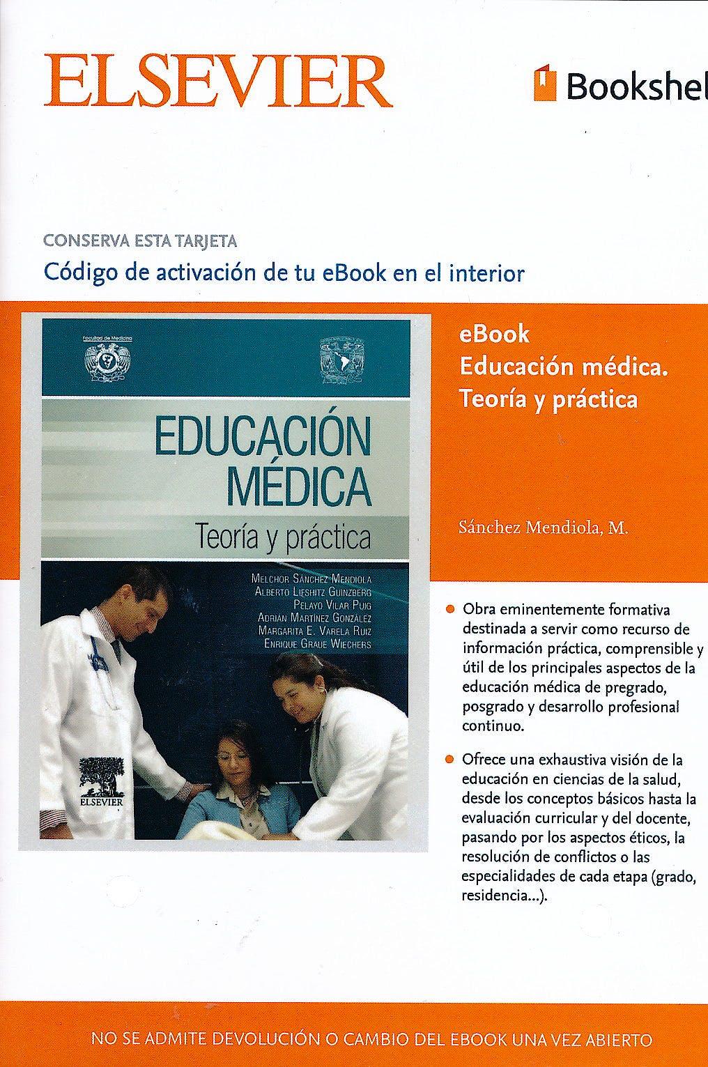 Portada del libro 9785490229650 Educacion Medica. Teoria y Practica (Ebook)