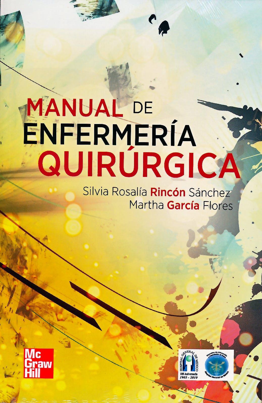 Portada del libro 9786071506252 Manual de Enfermeria Quirurgica