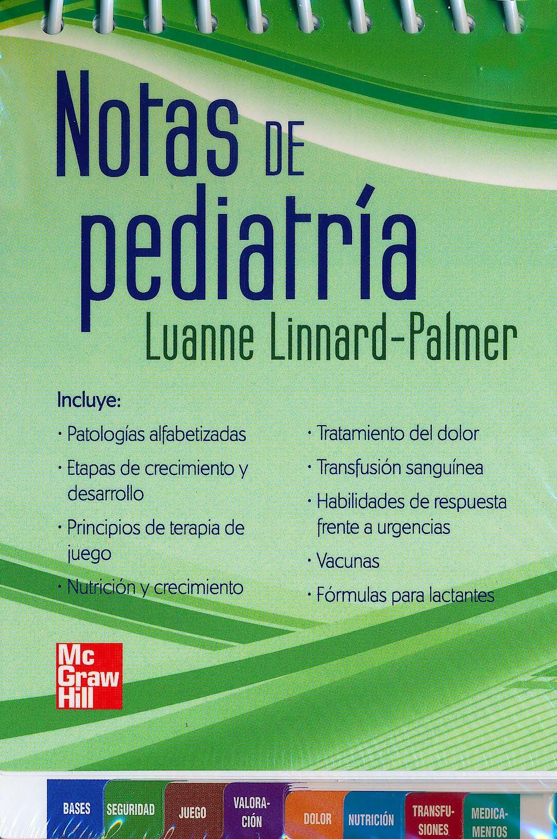 Portada del libro 9786071506689 Notas de Pediatria