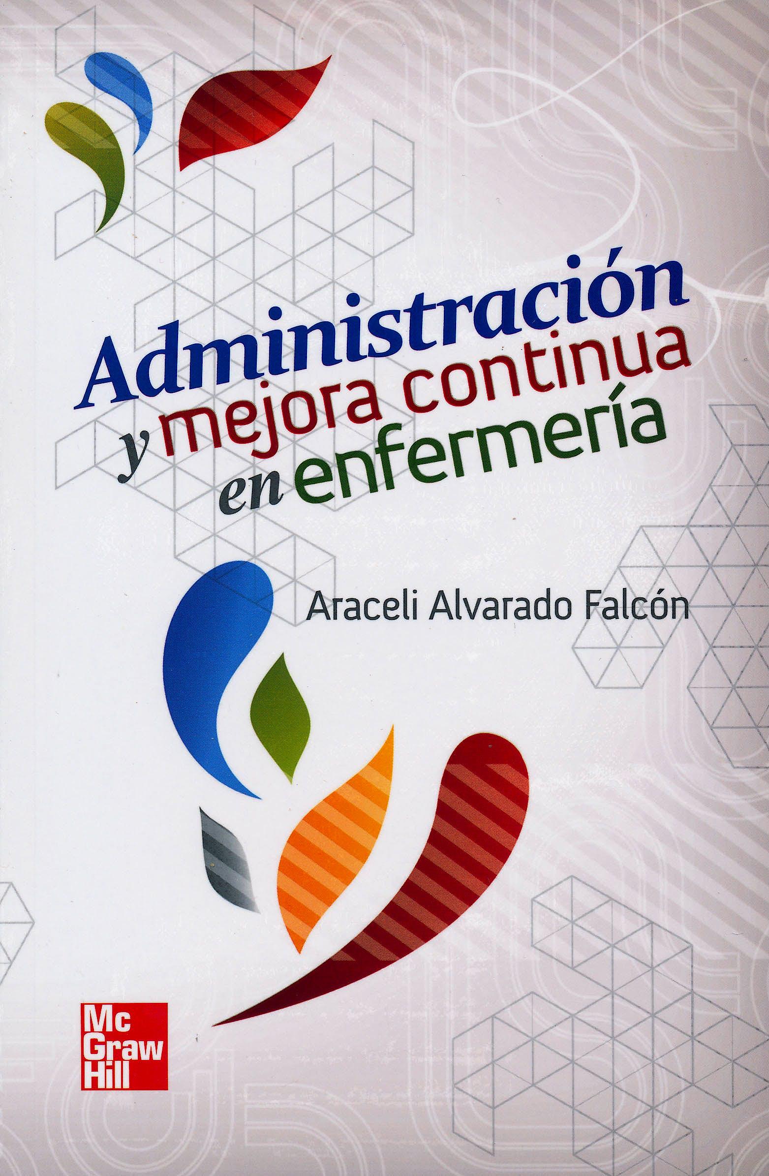 Portada del libro 9786071507235 Administración y Mejora Continua en Enfermería