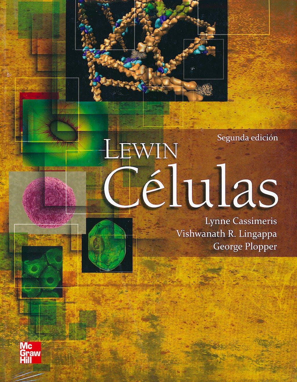 Portada del libro 9786071507464 Lewin Células